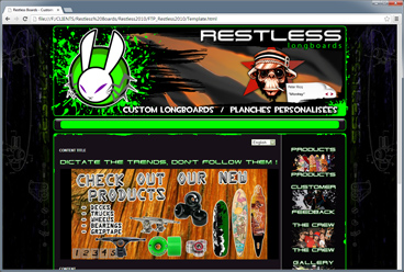 Past Web: Restless Boards