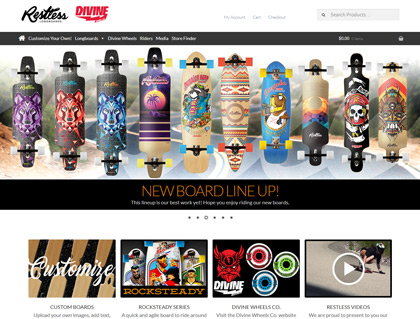 Current Web: Restless Longboards
